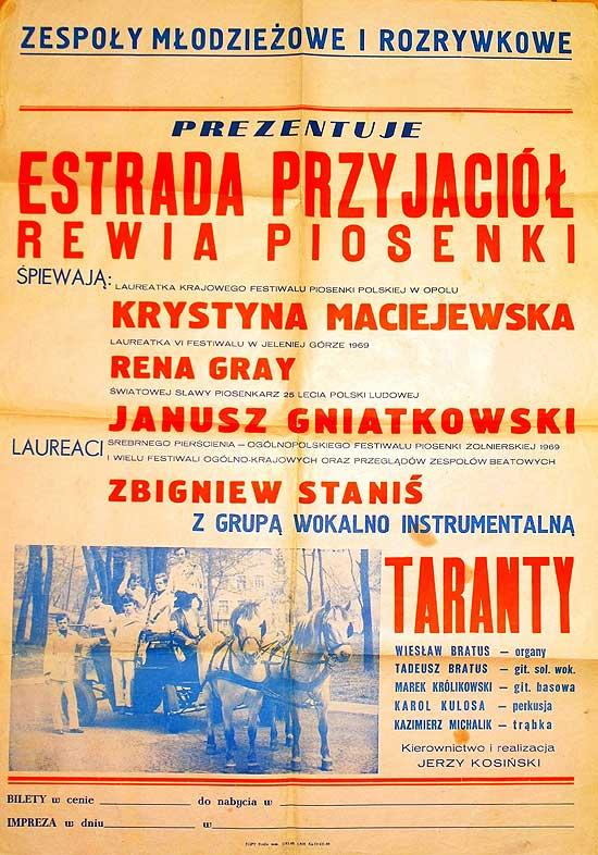 Taranty-plakat