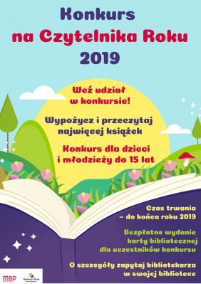 Konkurs na Czytelnika Roku 2019